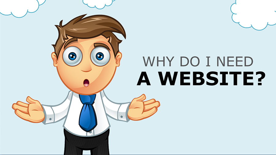 why need website